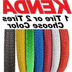 """1 or 2PAK Kenda K841 Kontact 20""""x 1.95"""" / 2.25"""" BMX Bike Tir"""