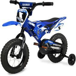 """Yamaha 12"""" Moto BMX Boys Bike, Blue NEW + Free shipping !!!"""