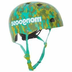 Mongoose -2 Street Youth Camo Hardshell Bike Bicycle Helmet,