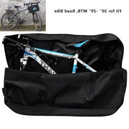 "29"" Plane Air Travel Bike Bag Luggage Carry Transport Case M"