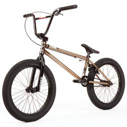 "2020 FIT BIKE CO BMX SERIES ONE 20"" BICYCLE TRANS GOLD 21"" T"