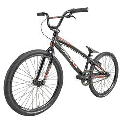 "2021 CHASE EDGE CRUISER 24"" Complete BMX Bike Black/Red"