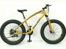 "26"" Pedalease Big Cat Fat Tire Mountain Bike MTB with Disc b"