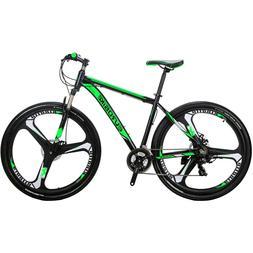 "29"" Mountain bike Aluminium 21 Speed Mens bikes Sports Bicyc"
