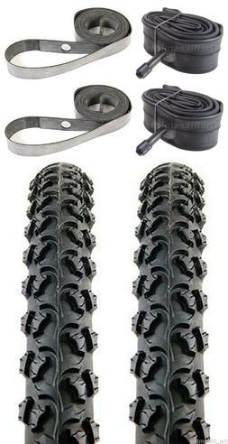 "2PAK KENDA Alpha Bite K831 26"" x1.95"" Bike Tires& Tubes &Str"