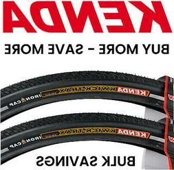 2PAK Kenda Kwick Trax 700 x 35c Road Hybrid Bike Tires Anti