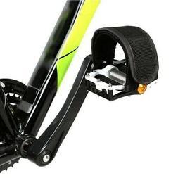 2Pcs/set Black Pedal Straps FIXED GEAR FIXIE BMX PLAT FORM P