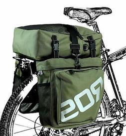 Roswheel 3in1 Travel Pannier Bag Rear Seat Rack Waterproof C