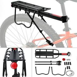 Aluminum Bike Rear Rack Seat Luggage Carrier Bicycle Post Mo