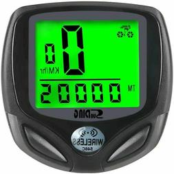 Digital Wireless Bike Bicycle Speedometer Cycle  Odometer MP