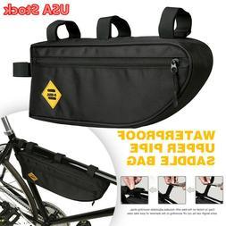 B-SOUL Bicycle Triangle Bag Bike Frame Front Tube Waterproof