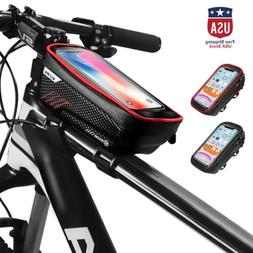 Bicycle Cycling Bike Frame Pannier Front Tube Bag Accessorie