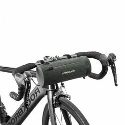 ROCKBROS Bicycle Handlebar Bag Extend Strap Waterproof Cylin