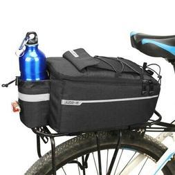 Bicycle MTB Bike Rear Seat Rack Storage Trunk Bag Pouch Cycl