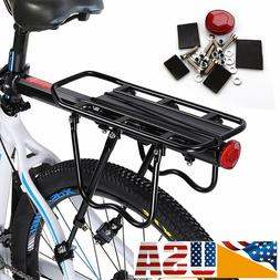 Bike Bicycle Quick Release Luggage Seat Post Pannier Carrier