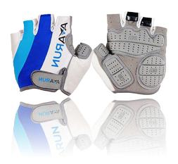 Bike Gloves with gel pads, Avarun, for men and women, Medium