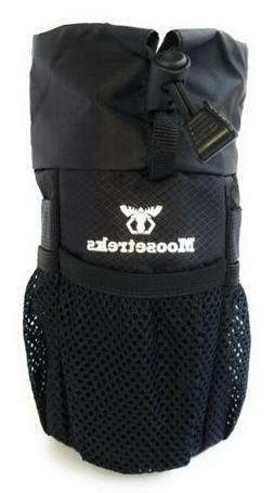 Moosetreks Bike Handlebar Stem Bag Water Bottle Gear Holder
