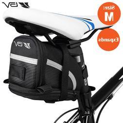 BV Bike Seat Saddle Bag, Bicycle Rear Storage Medium Tail Po