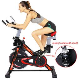 Cycling Bike Exercise Stationary Bike W/phone Mount Cardio W
