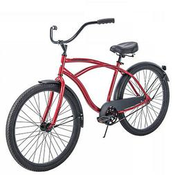 blue cruiser bike 26 men traditional comfort