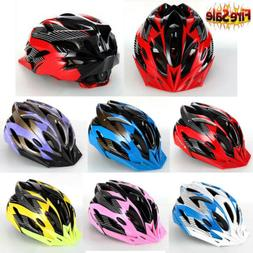 Cycling Bicycle Adult Men Womens Bike Helmet With Visor Moun