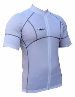 Zimco Cycling Bike Cycle Short Sleeve Jersey/Shirt Biking Wh