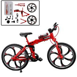 DIY Bicycle Model Kits Alloy Finger Bike Assembly Mountain B