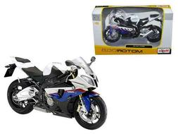 Ducati Multistrada 1200S Motorcycle Model 1:12 Scale White b
