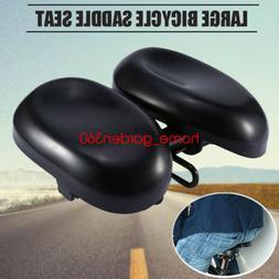 Durable Ergonomic Bicycle Seat Big Soft Bum Comfort Padded A