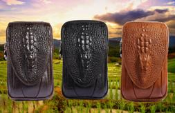 Fashion Waist Packs Genuine leather Tactical Bag Pack Belt P