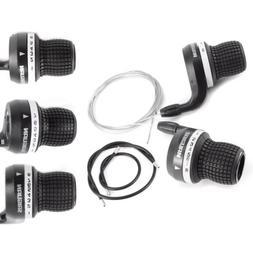 Gripshift Shifters  Mountain Bike Twist Grips Gears + Inner