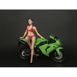 HOT BIKE MODEL ELIZABETH FIGURINE FOR 1/12 SCALE MODELS AMER
