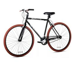 Kent 700c Thruster Fixie Men's Bike, Black/Red