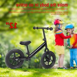 "Kids Balance Training 12""inch Bike No-Pedal Learn To Ride Pr"