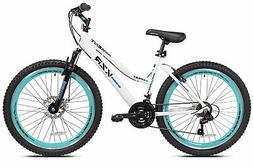 """26"""" Women's Kent KZR Mountain Bike, White/Teal W"""