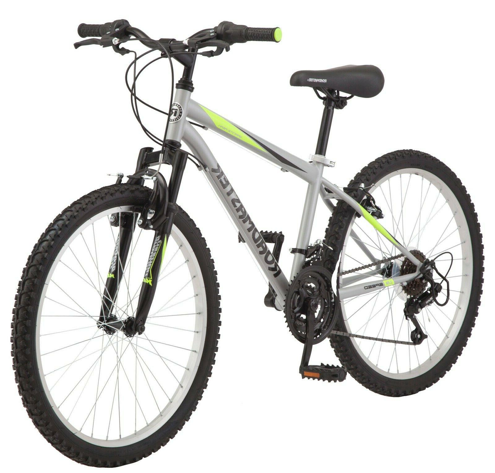 New Roadmaster Granite Peak Boy's Mountain Bike, 24-inch whe