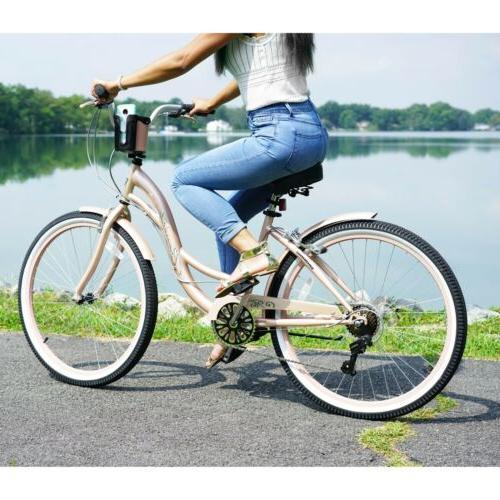 "🌸 Kent 26"" Women's Cruiser Bike Gold  "