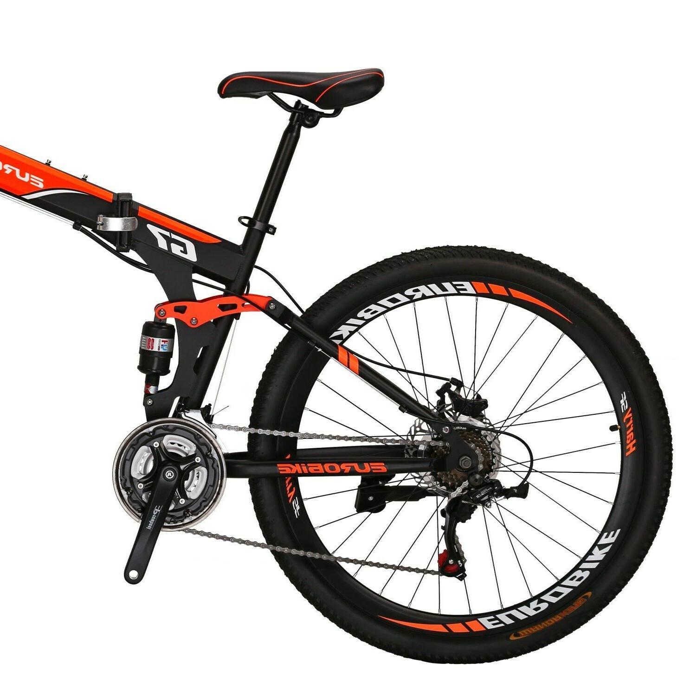 "27.5"" Mountain Bike 21 Foldable Bicycle"