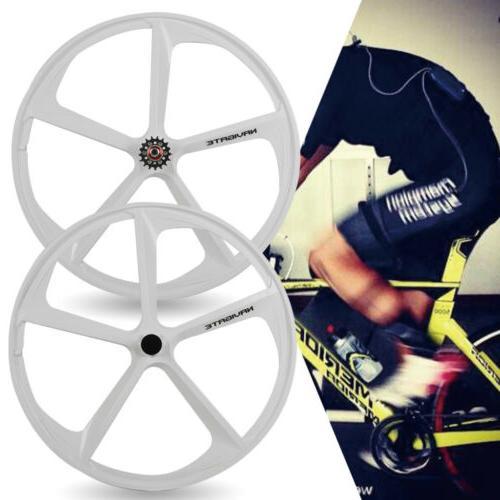 700c Fixed Mag Wheels of Rear Fixie