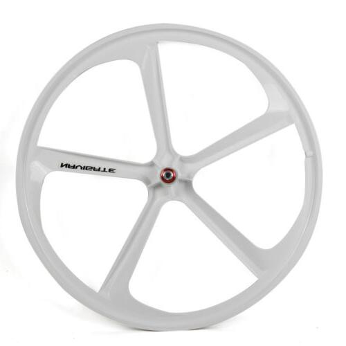 700c Gear Mag Wheels of & Fixie White