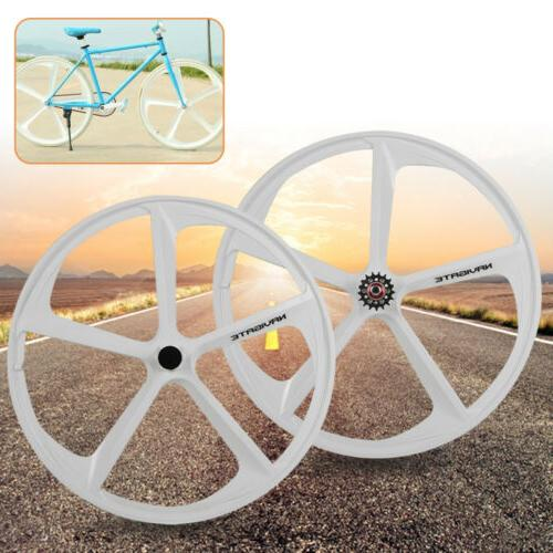 700c Fixed Gear Mag Rims Set of Front Fixie