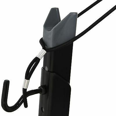 Dual-Use Adjustable Rack Metal Frame Black