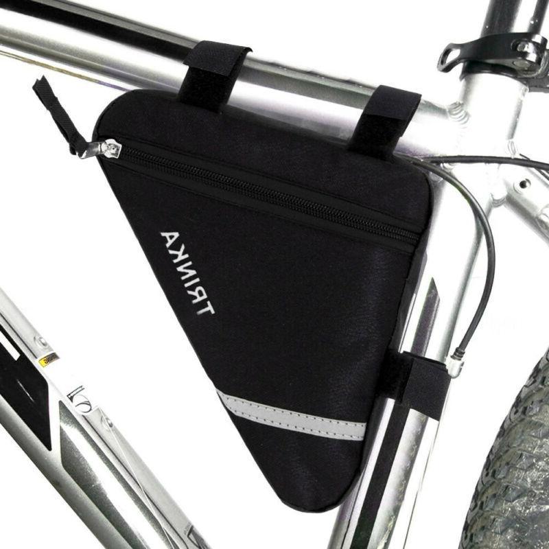 Bicycle Bike Bag Cycling Tube Frame Pannier