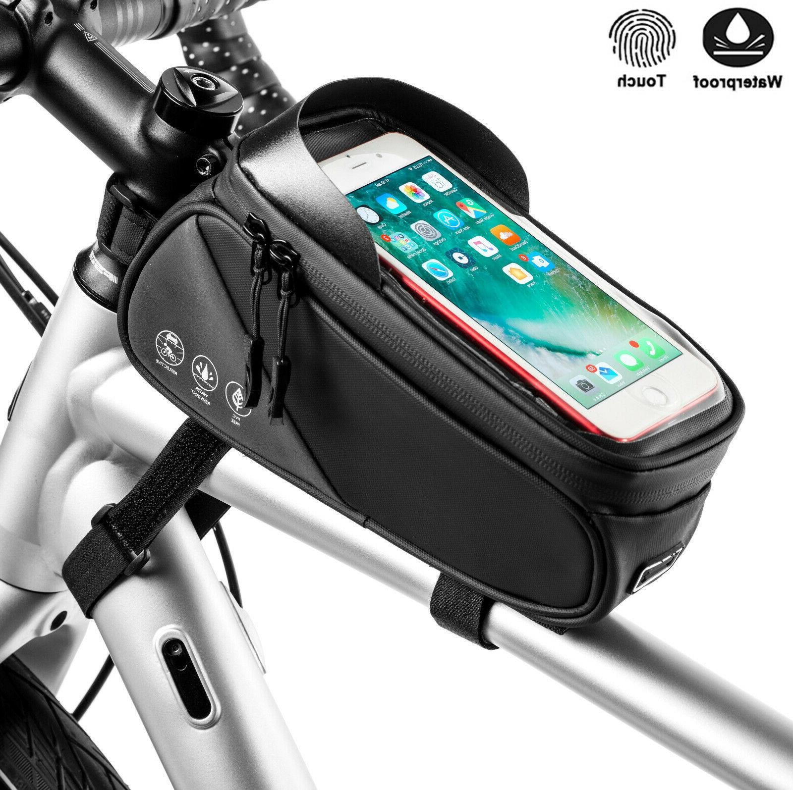Bicycle Cycling Bike Front Top Tube Frame Bag MTB Waterproof