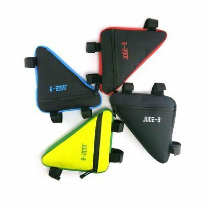 Front Top Tube Cycling Bike Triangle Frame Bag-Bicycle Under