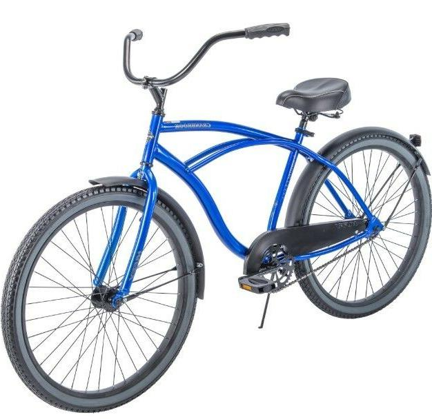 "Blue Bike 26"" Men Huffy Commuter Bicycle"
