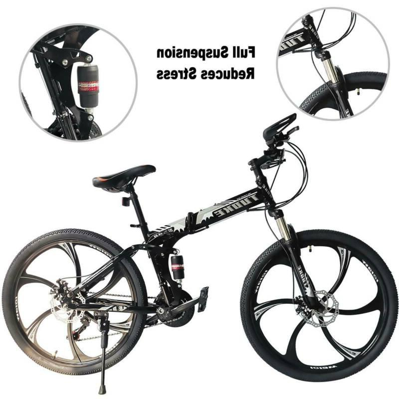 Folding Mountain Full Speed MTB Mens