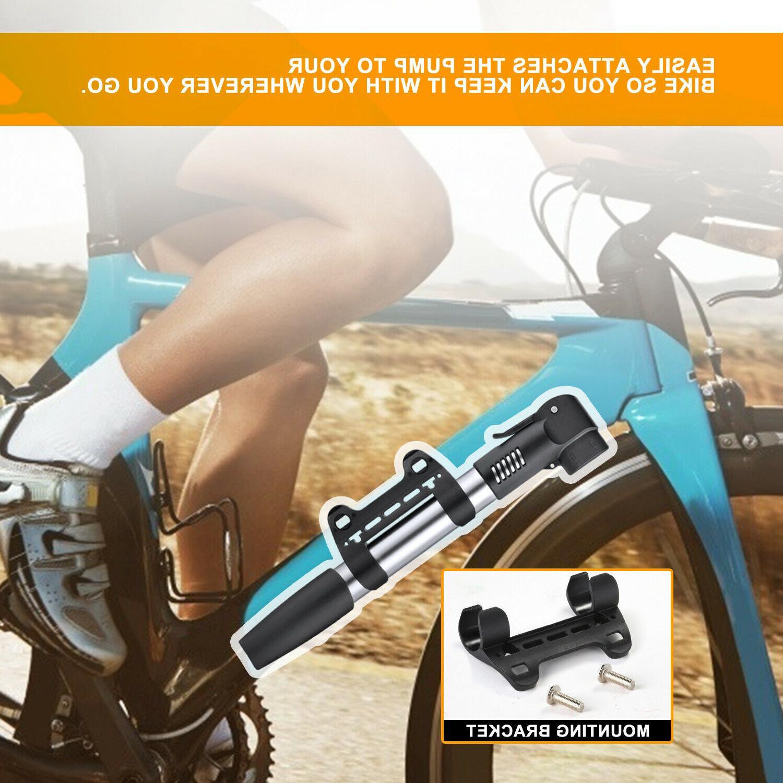 Hand Cycling Air Tyre Soccer Bike Inflator US