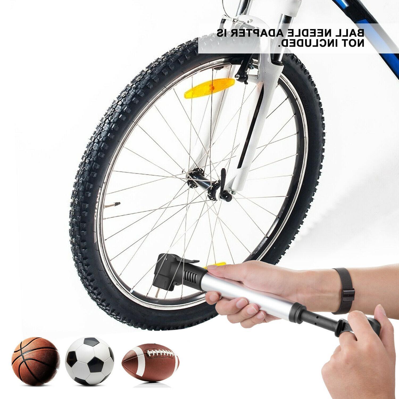 Hand Air Pump Ball Basketball Tyre Inflator US
