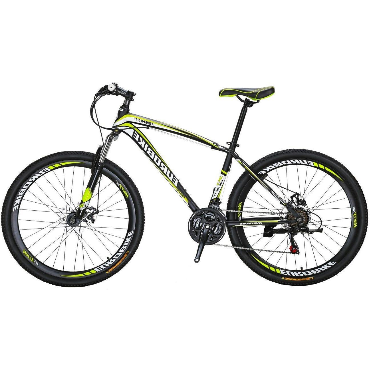 "Mountain Shimano 21 Mens Bikes MTB 27.5"" bicycle L"